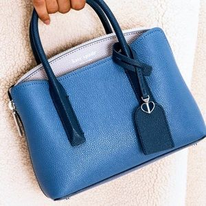 Kate Spade ♠️ Margaux Medium Satchel Bag Blue